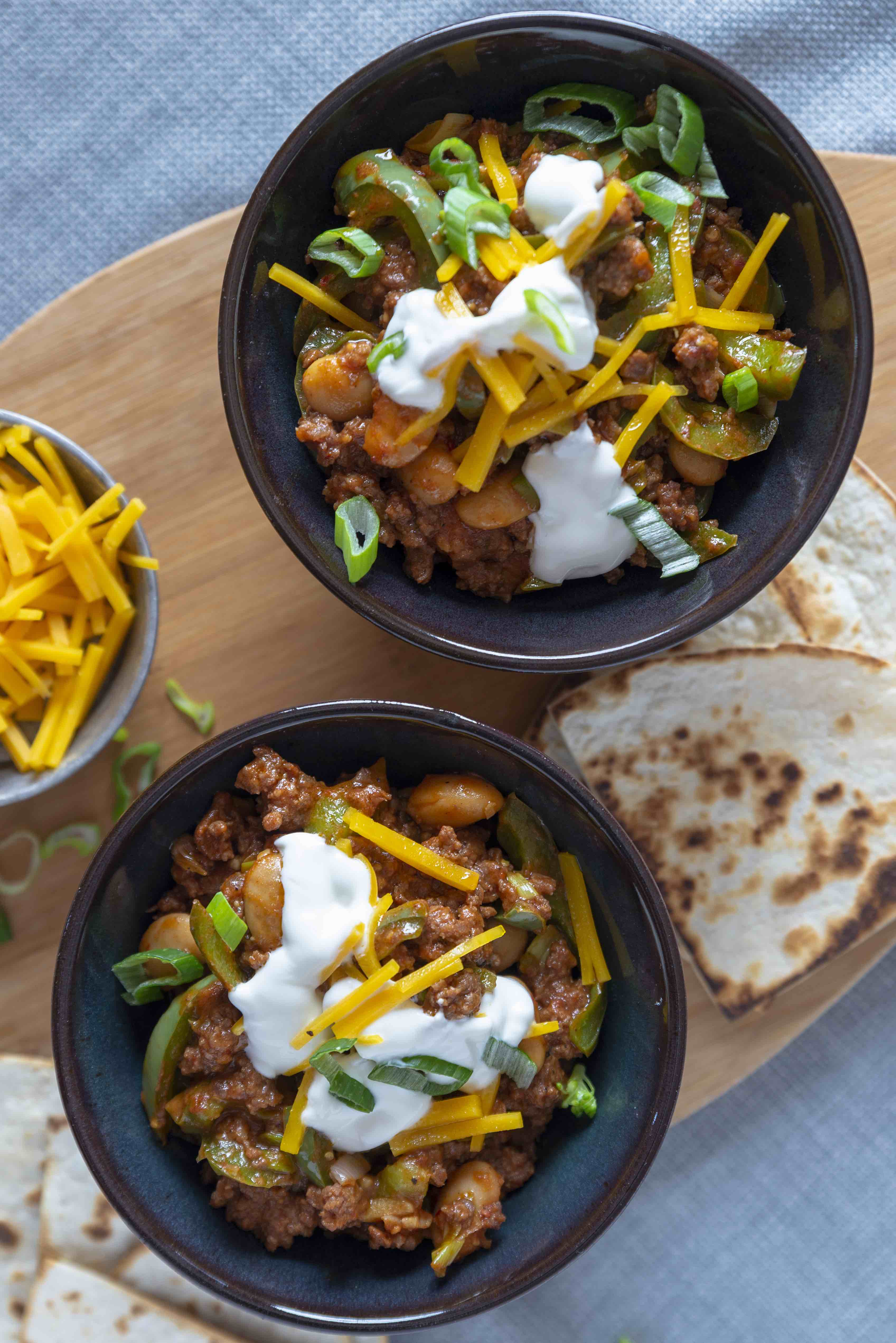 Cooked By Me - Classic beef chili